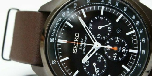 Seiko Men's Watch Only $139.99 Shipped (Regularly $395)