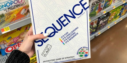 Sequence Board Game Only $9.97 (Regularly $25)