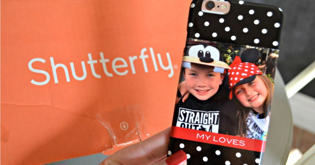 shutterfly box and personalized phone case