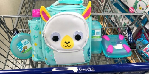 Adorable Lunch Kits Only $16.98 Shipped at Sam's Club (Includes Lunch Box, Water Bottle & More)