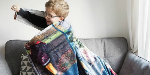Snapfish Large Personalized Fleece Photo Blanket Only $14.99 Shipped (Regularly $70)