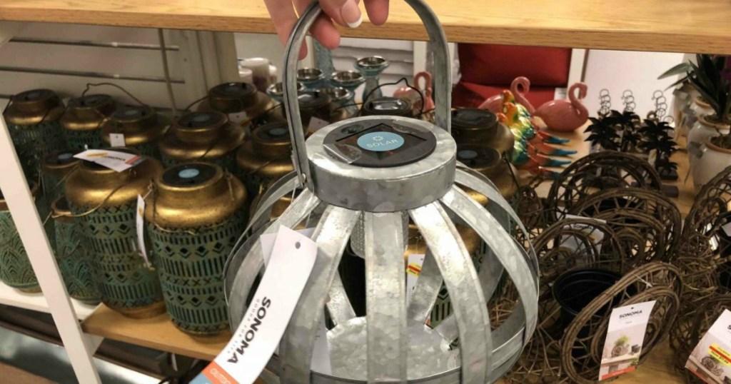 Sonoma lantern at Kohl's