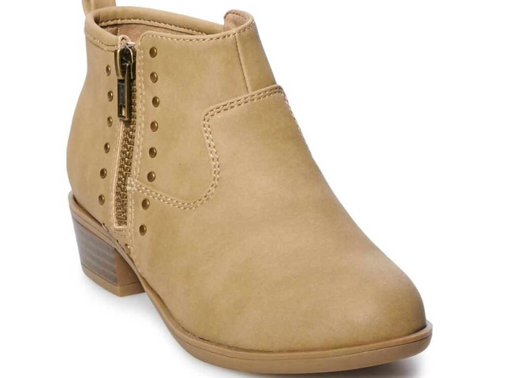 tan suede sonoma girls boots