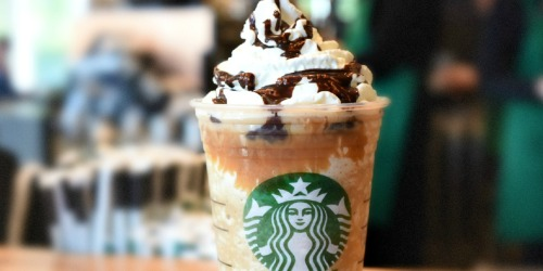 50% Off Starbucks Frappuccino Drinks at Starbucks | 3PM – Close Only
