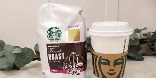 Starbucks French Roast Ground Coffee 20oz Bag Only $7.59 Shipped at Amazon