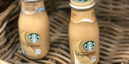 Starbucks Vanilla Frappuccino 15-Pack Bottles Only $11.19 Shipped at Amazon
