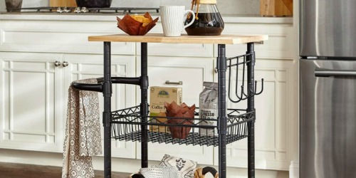 StyleWell Kitchen Cart Only $38 Shipped (Regularly $70) + More