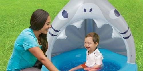 Summer Waves Inflatable Baby Pools Just $9.99 at Walmart (Regularly $26) – Shark, Dinosaur & More