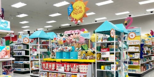 20% Off Sun Squad Totes, Coolers, Beach Towels & More at Target (In-Store & Online)