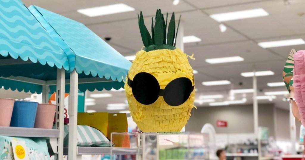 Sun Squad pineapple pinata at Target
