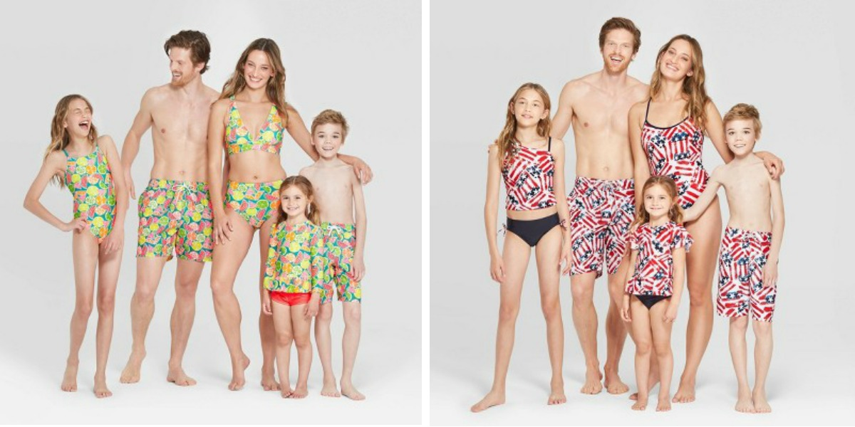 fe3b3df104 Matching Family Swimwear at Target Priced as Low as $9.99