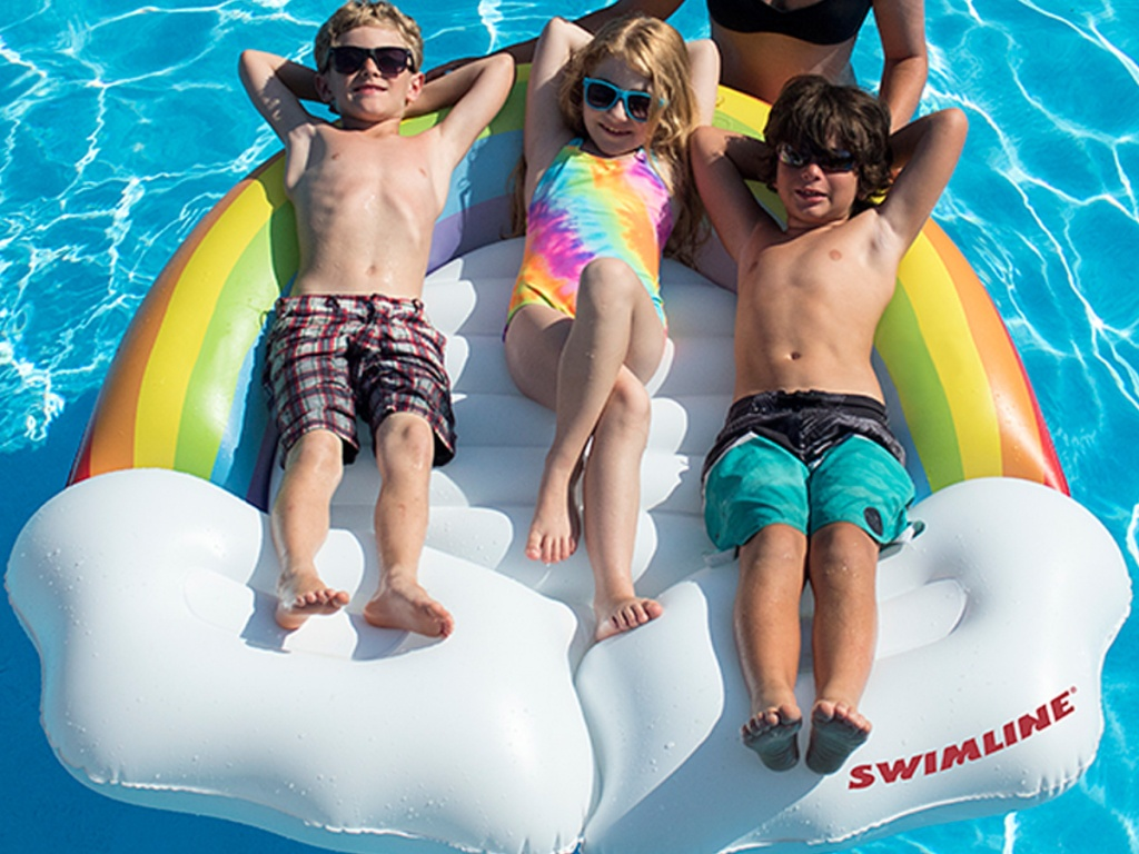Swimline Rainbow Pool Float