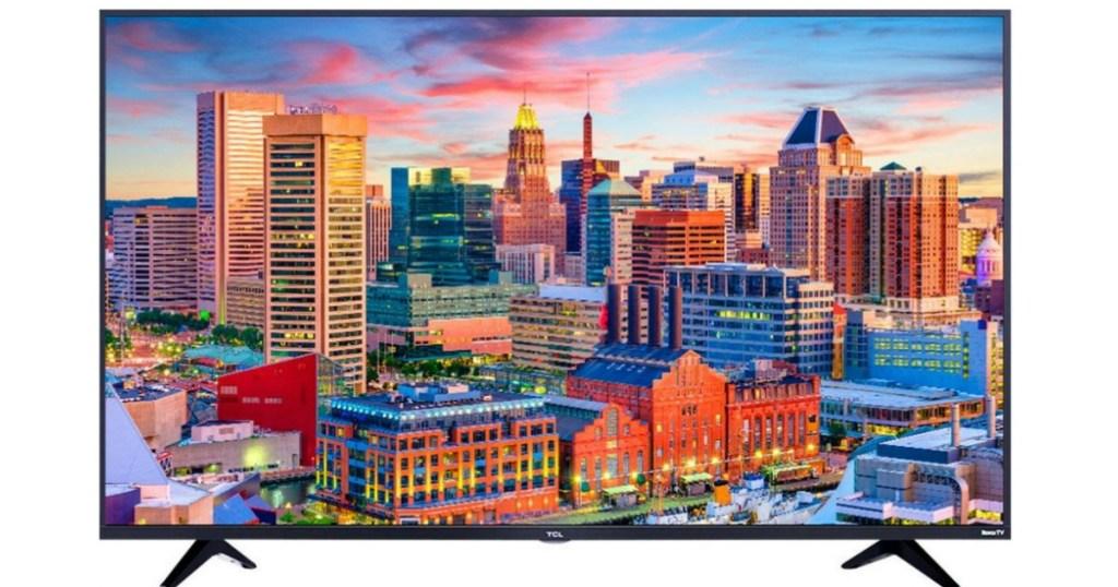 TCL 49″ Smart LED TV w/ HDR Roku