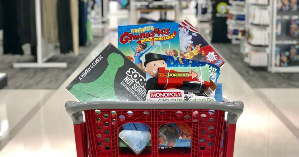 monopoly, sorry not sorry and fantastic gymnastics board games at target