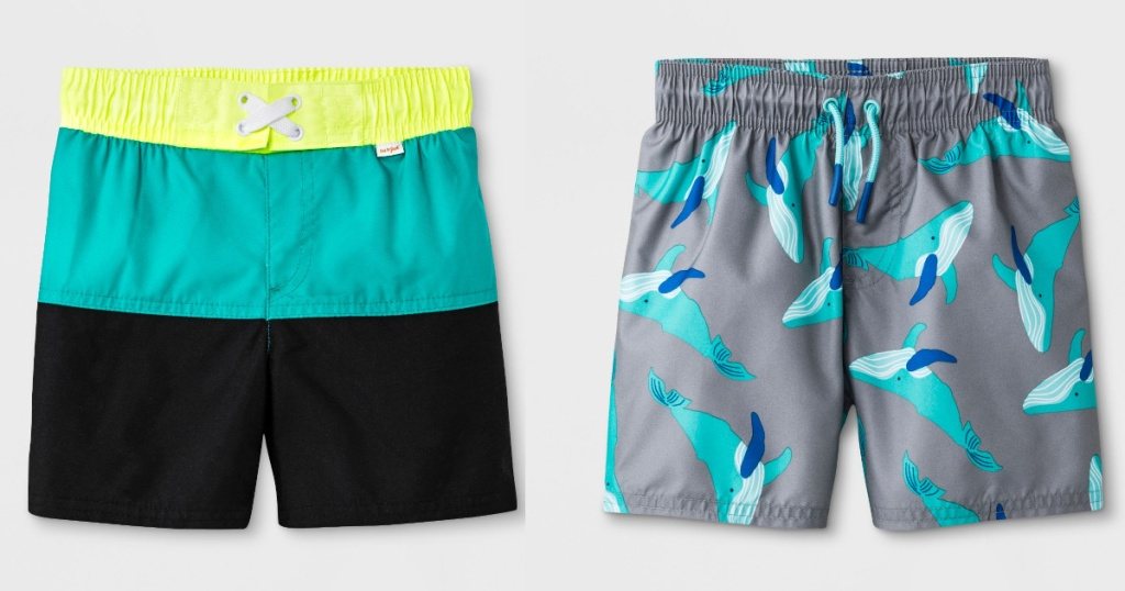 Target Cat & Jack Toddler Boy Swim Trunks