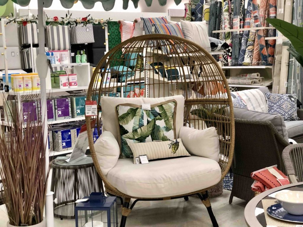 Amazing Up To 40 Off Patio Furniture At Target Hip2Save Unemploymentrelief Wooden Chair Designs For Living Room Unemploymentrelieforg