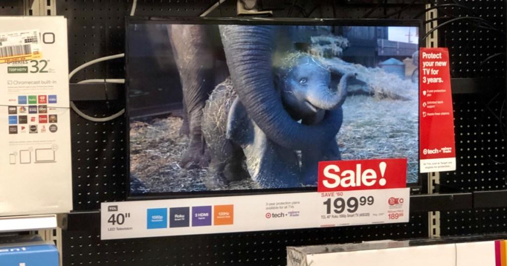 Target Flatscreen TV