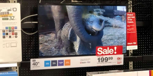 Up to 55% Off Smart TVs at Target