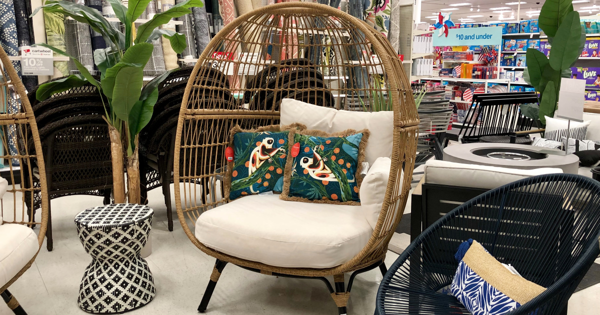 Opalhouse Southport Patio Egg Chair Only 279 99 At Target