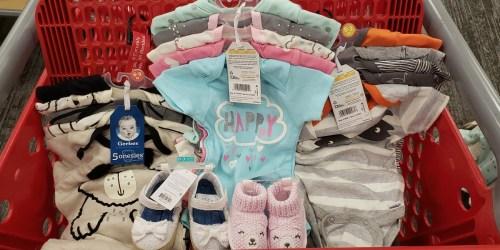 Gerber Baby Bodysuit 5-Packs Only $7.99 at Target + More