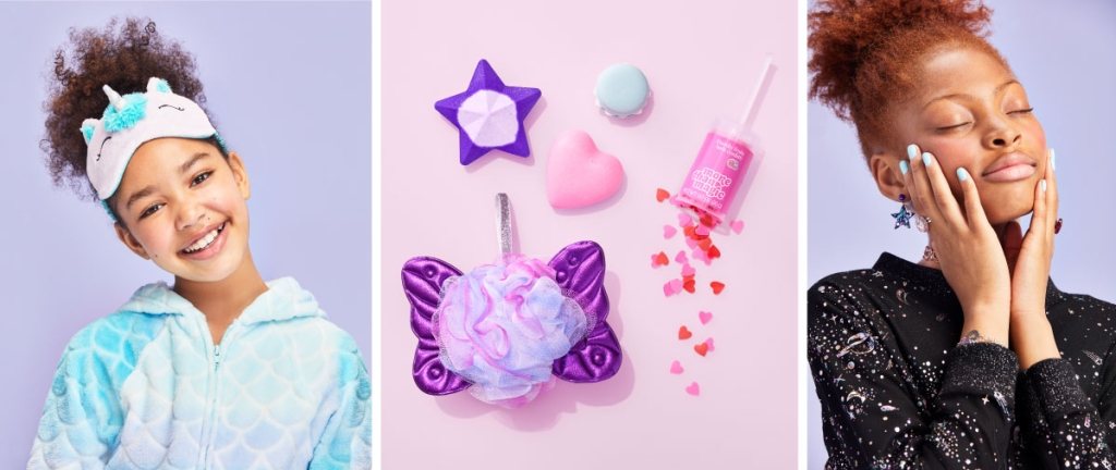 sleepover accessories from Target's More Than Magic line