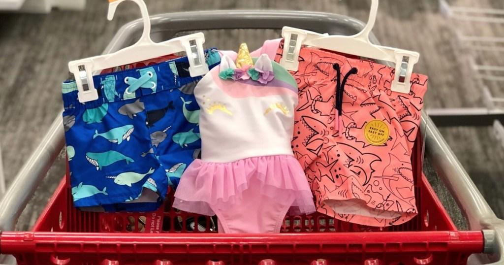 Target toddler swimwear