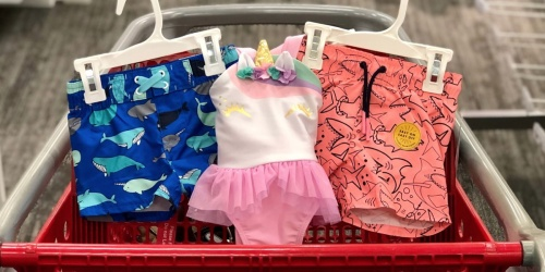 Up to 50% Off Kid's Swimwear at Target.com