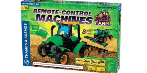 Remote Control Farm Science Experiment Kit Only $24.91 (Makes Four Interactive Models)