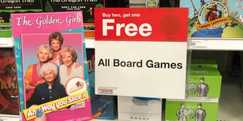 Buy 2 Board Games, Get 1 FREE at Target = Over 80% Off Games