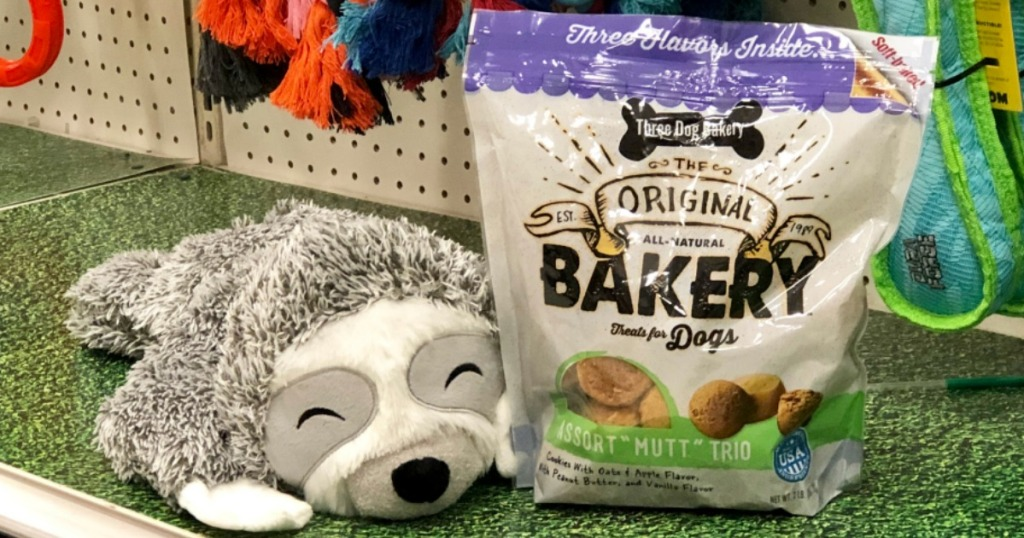sloth and dog treats