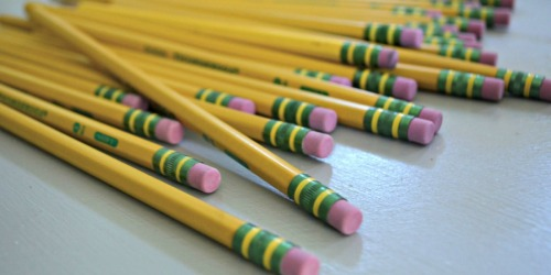 Ticonderoga Pencils 96-Count Pack Only $9.95 – Just 10¢ Each