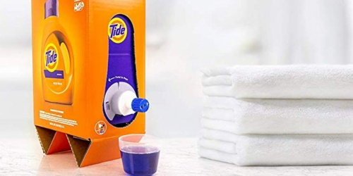 Tide Liquid Laundry Detergent BIG 105oz Eco-Box Only $14.95 Shipped at Amazon