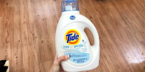 Tide Free & Gentle Liquid Laundry Detergent 100oz Only $8.64 Each on Amazon + More