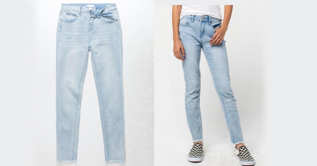 girls jeans at tillys