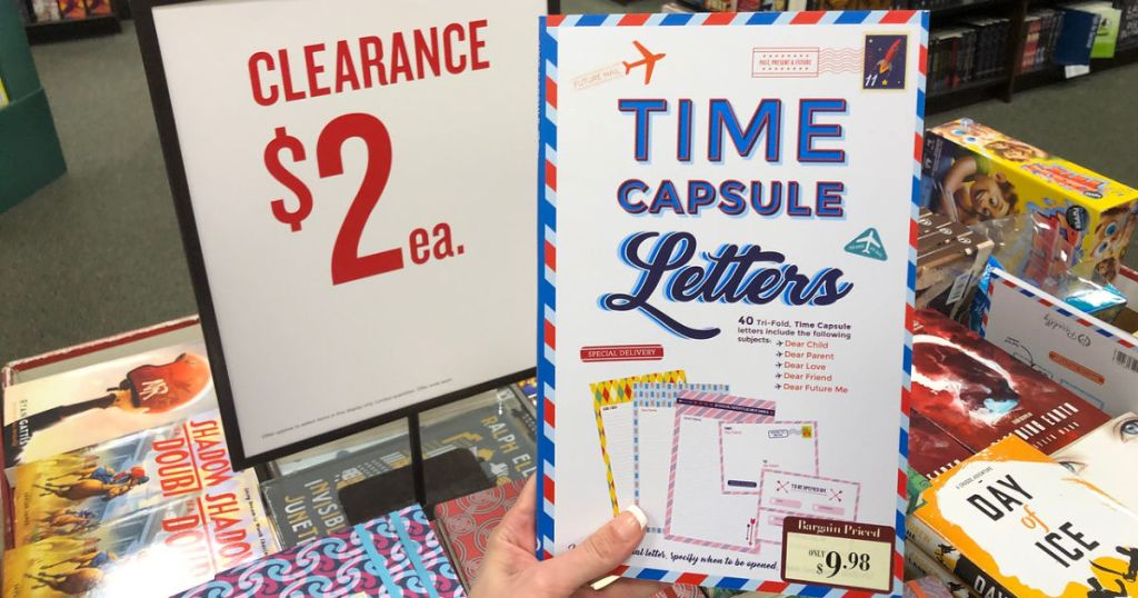 time capsule letters at barns and noble