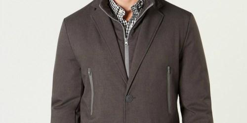 Tommy Hilfiger Men's Raincoat Just $27.99 at Macy's