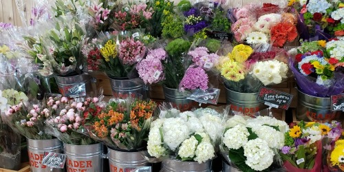 Seasonal Flower Bouquets as Low as $3.99 at Trader Joe's