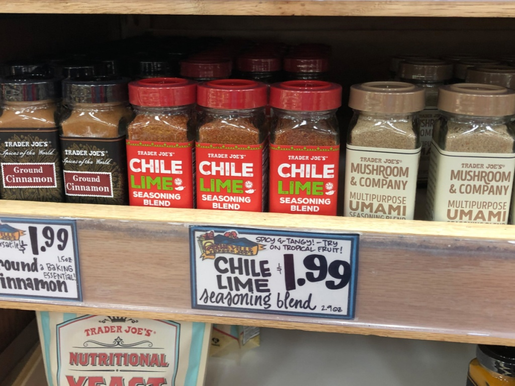 Trader Joe's Chili Lime Seasoning