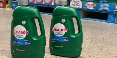 $2.50 Instant Savings on Cascade Dishwasher Detergent 125 Oz Bottle at Costco (No Pre-Washing Needed)