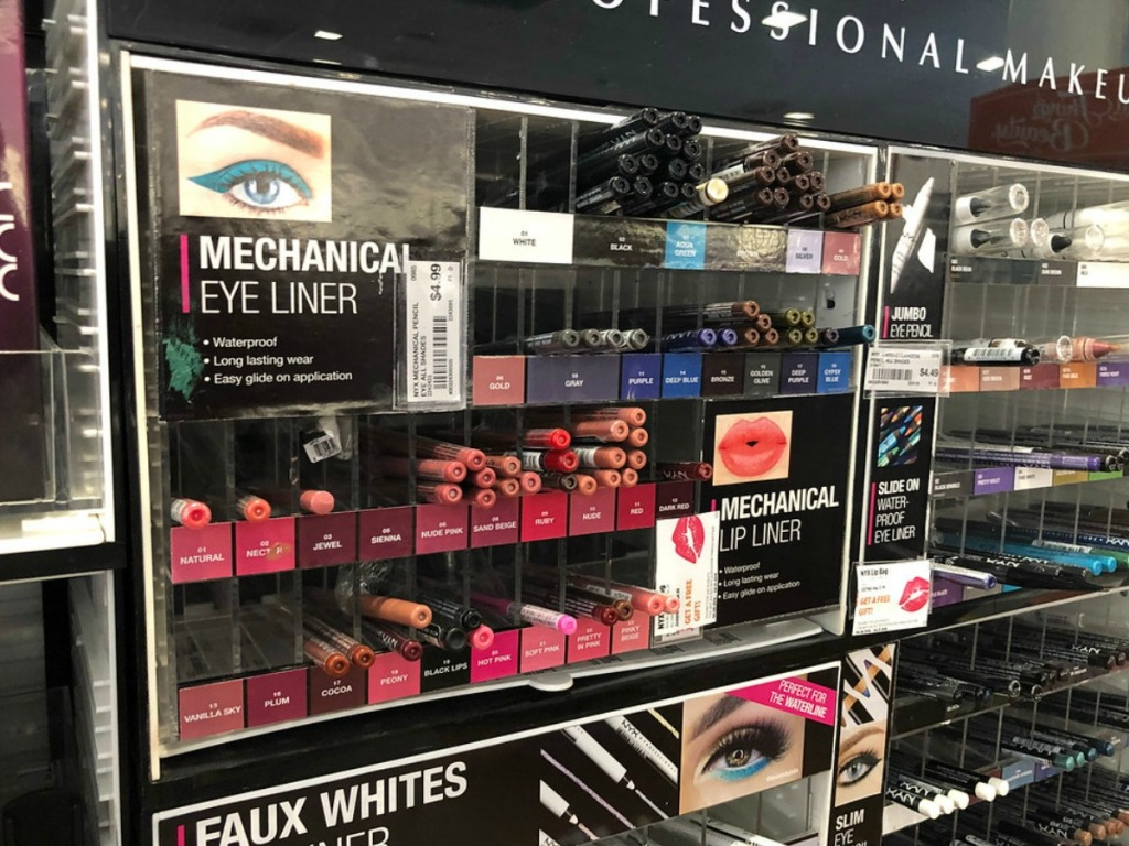 eye liner in the store at Ulta