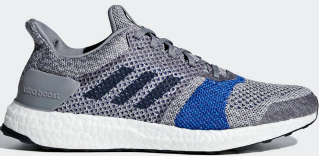 side view of mens adidas shoe
