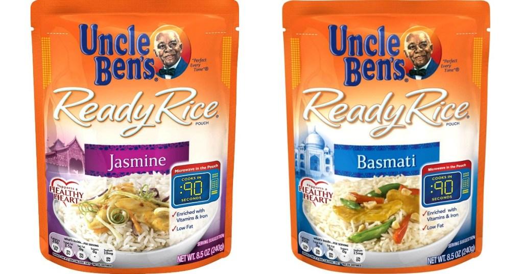 Uncle Ben's Ready Rice Pouches