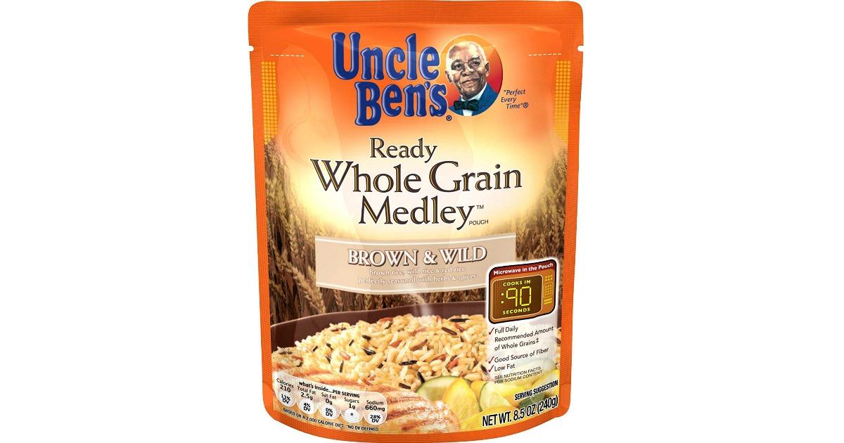Uncle Ben's Ready Whole Grain Medley Rice