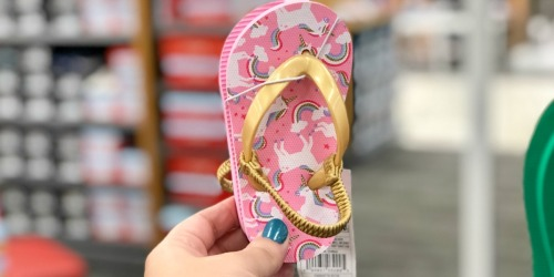 Buy One, Get One 50% Off Sandals for the Family at Target