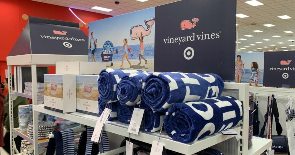 vineyard vines beach towel