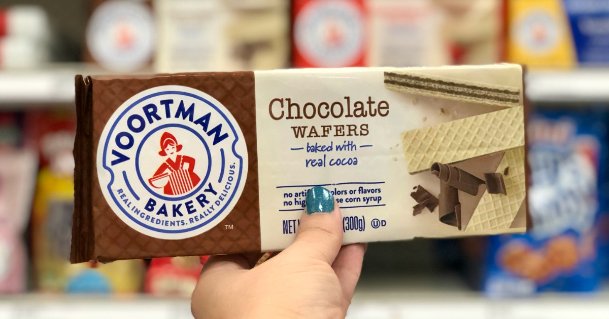 Voortman Bakery Chocolate Wafers