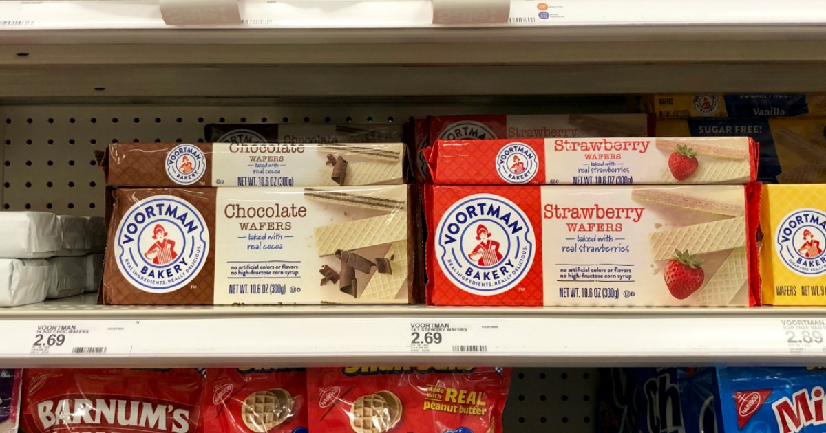 Voortman Bakery Chocolate and Strawberry Wafers at Target