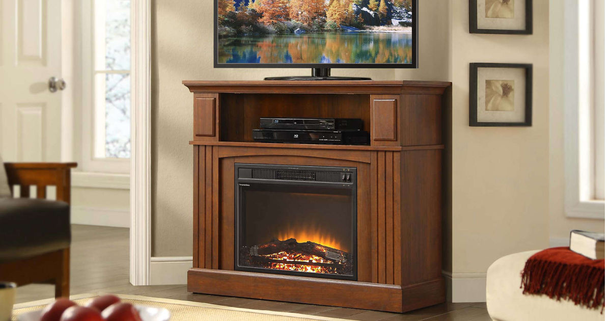 Up To 80 Off Electric Fireplace Tv Stands At Walmart Free Shipping