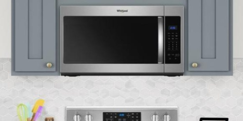 Whirlpool Over-the-Range Microwave Only $199 Shipped (Regularly $339)