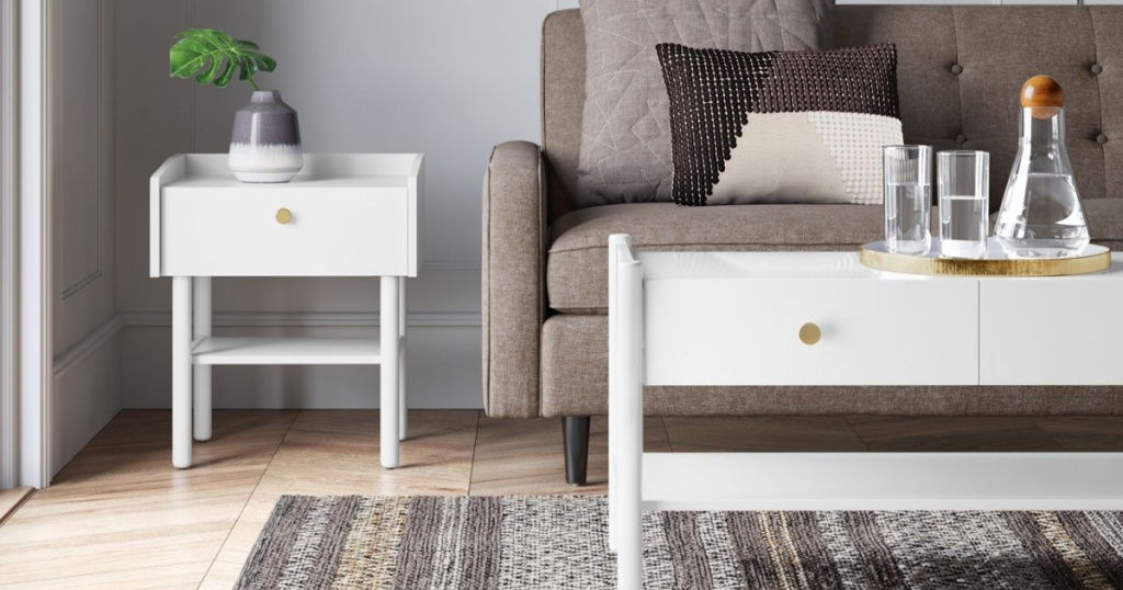 Wiley Side Table White - Project 62